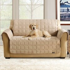 Soft Suede Pet Loveseat Cover