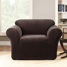 <strong>Sure-Fit</strong> Stretch Metro 1-Piece Club Chair Slipcover