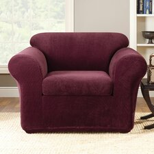 Stretch Metro 2-Piece Club Chair Slipcover