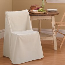Cotton Duck Folding Chair Slipcover