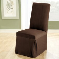 <strong>Sure-Fit</strong> Stretch Pique Dining Chair Slipcover
