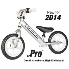"Boy's 12"" Pro No-Pedal Balance Bike"