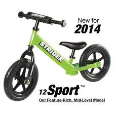 """Boy's 12"""" Sport No-Pedal Balance Bike"""