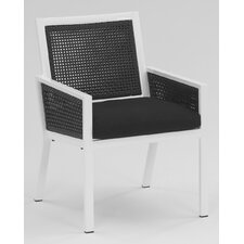 Parkview Woven Dining Arm Chair with Cushion
