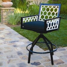 Parkview Cast Swivel Barstool