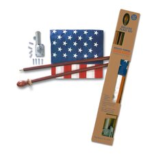 Deluxe United States Traditional Flag Set