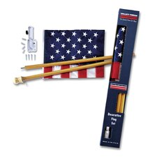 <strong>Valley Forge Flag</strong> Decorative United States Traditional Flag Set