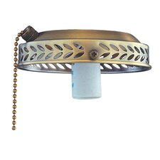 <strong>Royal Pacific</strong> One Light Ceiling Fan Light Fitter