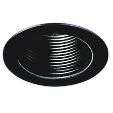 "6"" Baffle with Black Trim Ring"