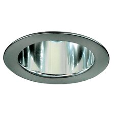 Recessed Housing Reflector in Brushed Aluminium