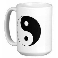 <strong>Oriental Design Gallery</strong> Chinese Yin Yang 15 oz. Coffee / Tea Mug