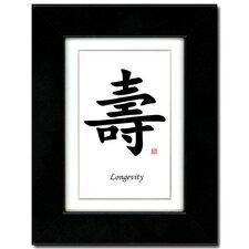 Longevity Framed Textual Art