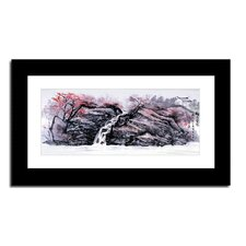 Waterfall by Lin Hung Tsung Framed Graphic Art