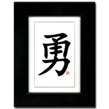 <strong>Oriental Design Gallery</strong> Courage Wall Art