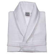 100% Turkish Cotton Unisex Waffle Weave Bathrobe