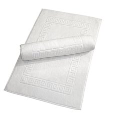 Luxury Hotel and Spa Turkish Cotton Greek Key Bath Mat (Set of 2)