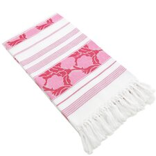Flowers For All Jacquard Pestemal Towel