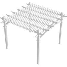 "1' 6"" H x 10' W x 10' D Additional Shade Kit for Pergola"