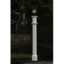 "<strong>New England Arbors</strong> Portsmouth 74"" Lantern Post"