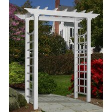 Westhaven Arbor with Pergola Top