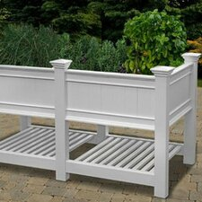 <strong>New England Arbors</strong> Cambridge Raised Planter Extension Kit