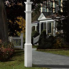 "<strong>New England Arbors</strong> Sturbridge 74"" Lantern Post"