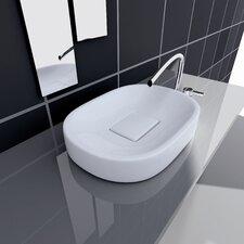 Groove Vessel Bathroom Sink