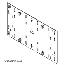 MSB Series Universal Interface Bracket for Flat Panel Mounts