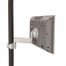 Single Swing Pole Arm LCD Mount