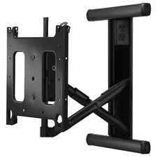 "Large Articulating Arm In-Wall Mount for 15"" Flat Panel Screens"