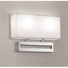 <strong>ILEX Lighting</strong> Broadway 1 Double Wall Sconce
