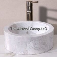 <strong>Allstone Group</strong> Circular Vessel Bathroom Sink