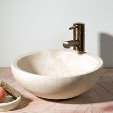 <strong>Allstone Group</strong> Round Vessel Bathroom Sink