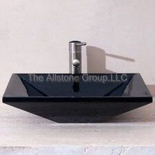 <strong>Allstone Group</strong> Rectangle Vessel Bathroom Sink