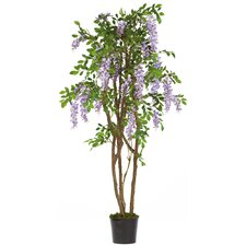 "60"" Silk Wisteria Tree in Purple"