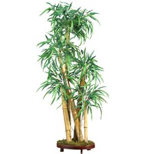 "42"" Silk Chinese Style Bamboo Tree in Green"