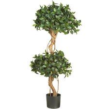 <strong>Nearly Natural</strong> Sweet Bay Double Ball Round Topiary in Pot