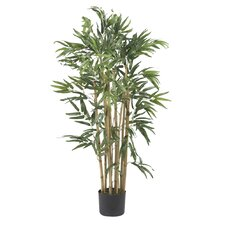 Silk Multi Bambusa Bamboo Tree in Green