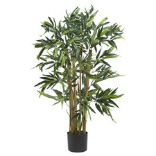 Silk Biggy Bamboo Tree in Green