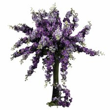 "38.5"" Delphinium Stem in Purple (Set of 12)"