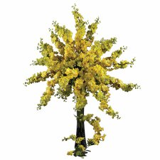 "38.5"" Delphinium Stem in Yellow (Set of 12)"
