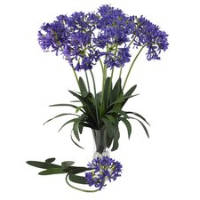 "<strong>Nearly Natural</strong> 29"" African Lily Stem in Purple (Set of 12)"