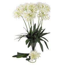 "<strong>Nearly Natural</strong> 29"" African Lily Stem in White (Set of 12)"