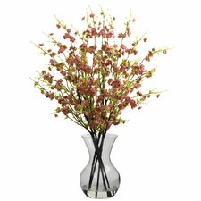 Cherry Blossoms with Vase Arrangement