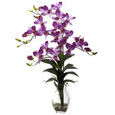 Dendrobium Orchid with Vase Arrangement