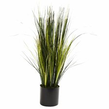 Nearly Natural Onion Grass Floor Plant in Pot