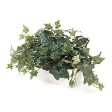 <strong>Nearly Natural</strong> Ivy Desk Top Plant in Planter