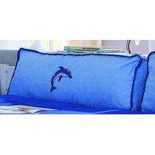 Seitenkissen in Blau / Delfin