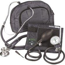 Fanny Pack Adjustable Aneroid Sphygmomanometer with Sprague Stethoscope Kit