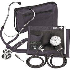 Adjustable Aneroid Sphygmomanometer with Sprague Stethoscope Kit